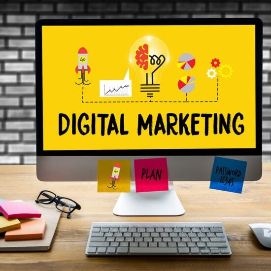 Digital Marketing, Computer, Desk, Workplace, WorkspaceDigital Marketing Computer Desk Workplace Workspace