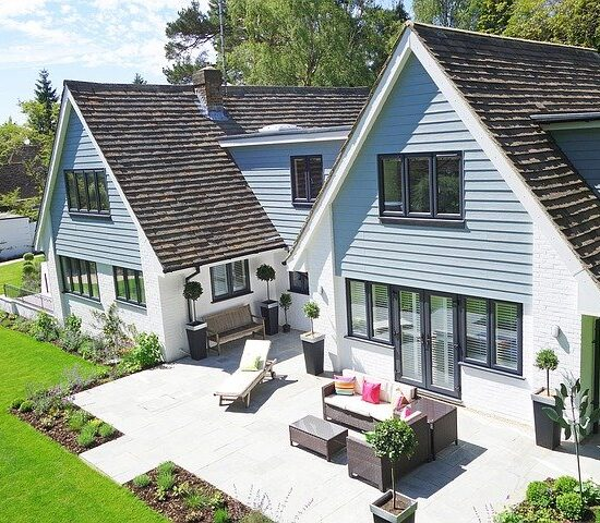 New England Home Architecture Building Residential
